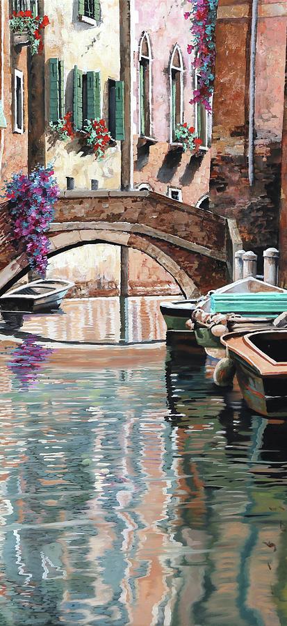 Reflection Painting - Riflessi Pallidi by Guido Borelli