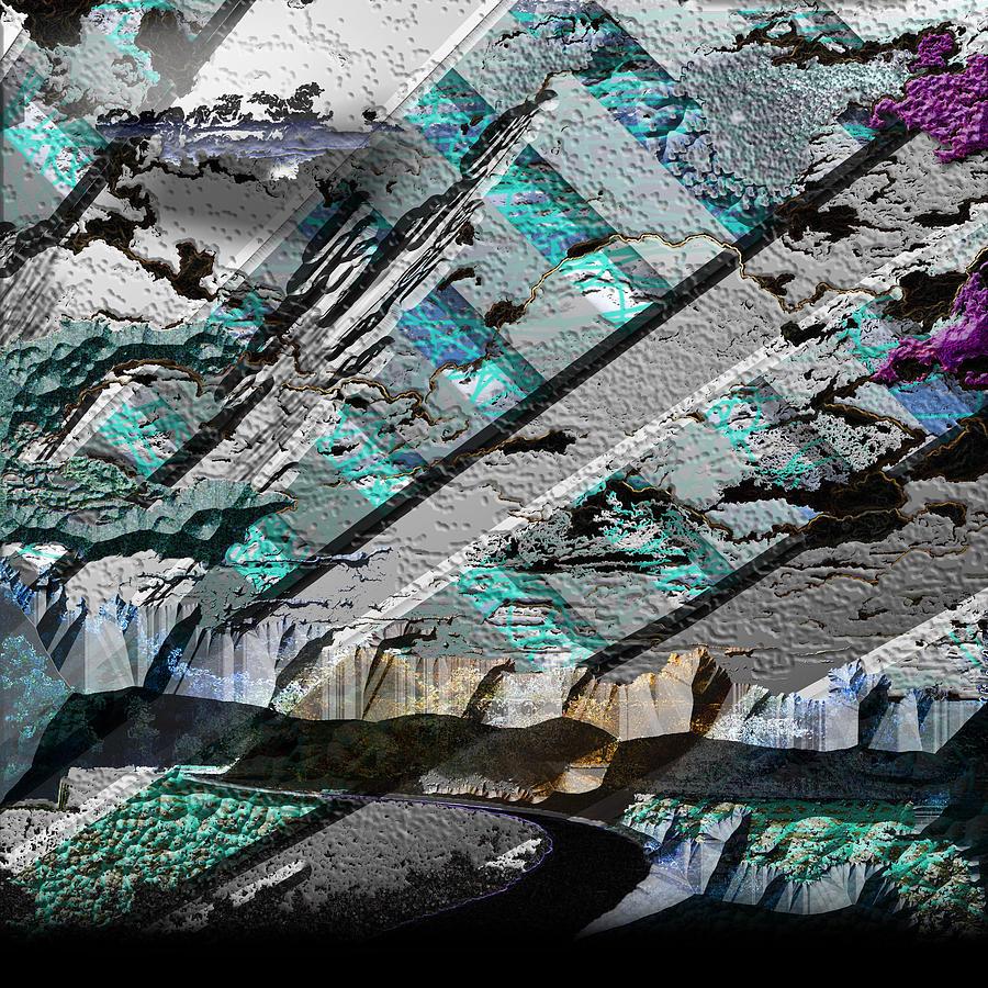 Graphic Design Digital Art - Rift by Aaron Kreinbrook