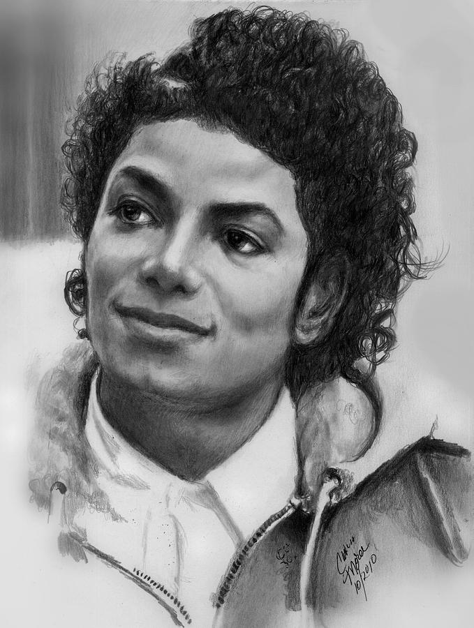 Mj Drawing - Right Before Bad by Carliss Mora