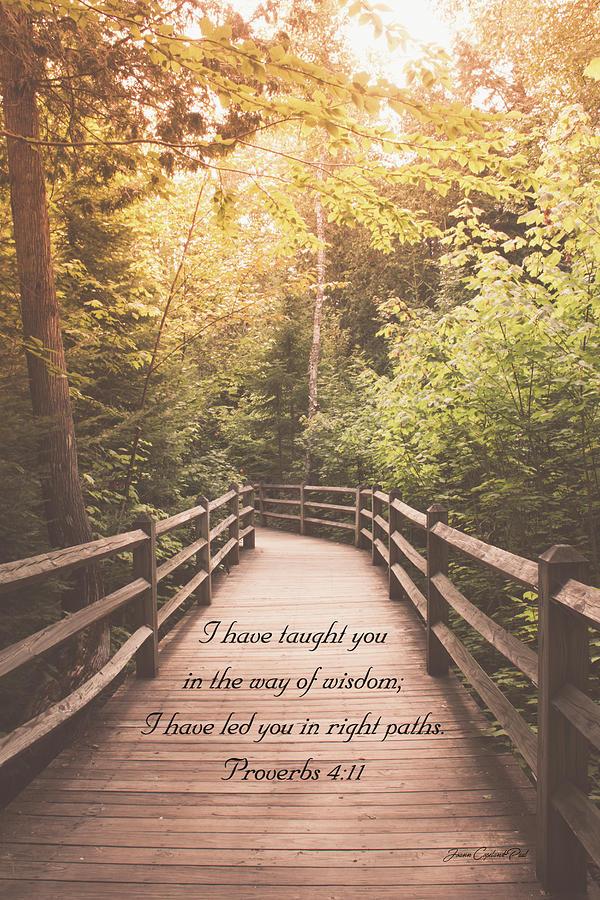 Right Paths Proverbs 4 11 by Joann Copeland-Paul