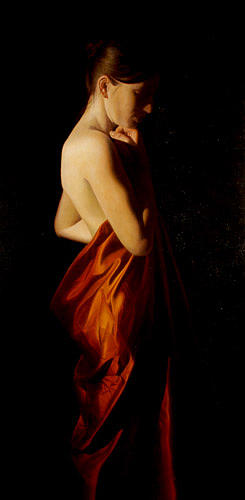 Female Painting - Right by Toby Boothman