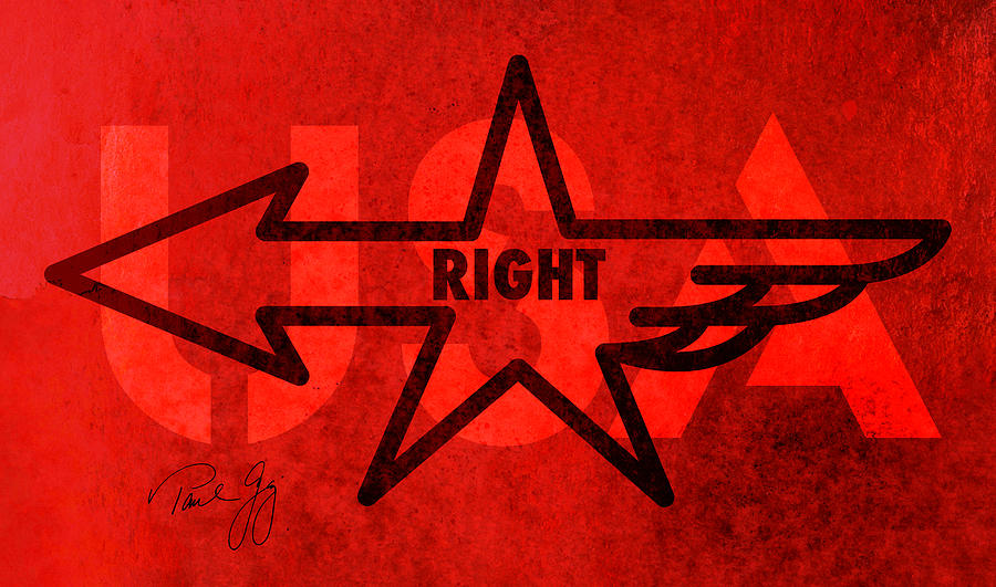 Right Wing Mixed Media - Right Wing by Paul Gaj