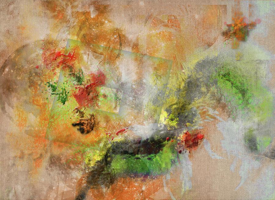 Abstract Mixed Media - Rigor by Monroe Snook