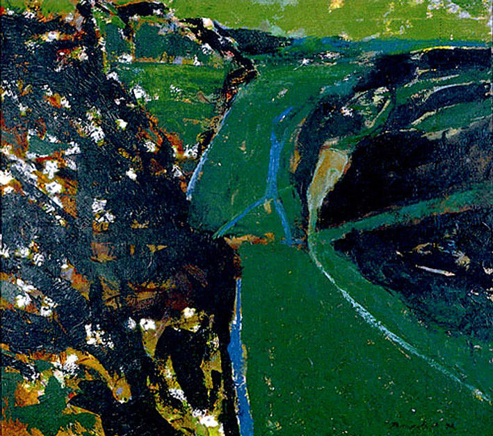 Landscape Painting - Rijeka Crnojevica by Vladimir Vlahovic