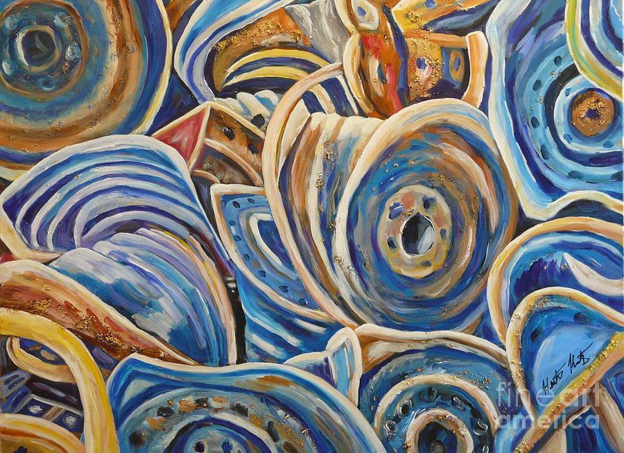 Landscape Painting - Rims by Heather Kertzer
