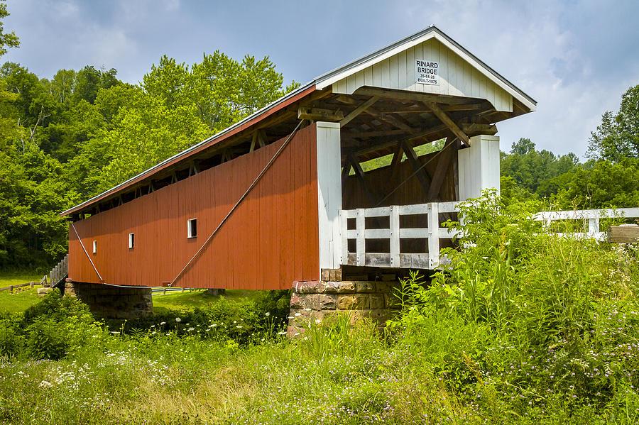 Rinard Covered Bridge Photograph