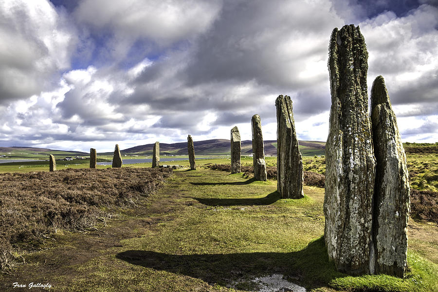Ring Of Brodgar Photograph - Ring Of Brodgar by Fran Gallogly