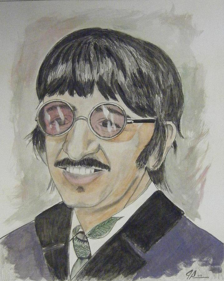Beatles Painting - Ringo by Joseph Papale