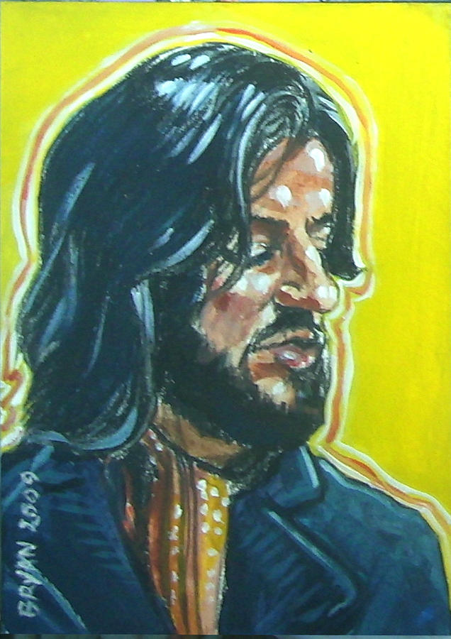 Ringo Starr Painting - Ringo Starr by Bryan Bustard