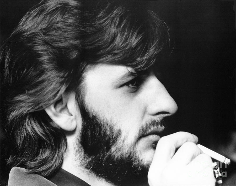 Ringo Starr in 1972 Photograph by Chris Walter