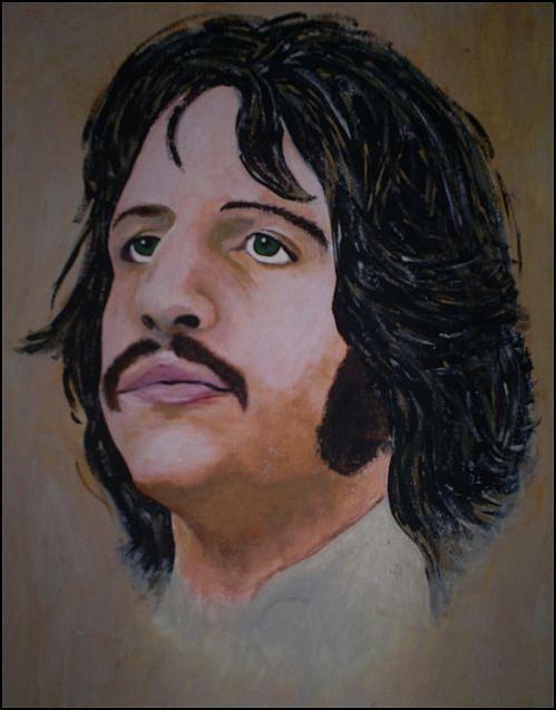 Ringo Starr Painting - Ringo Starr by Michelle Williams