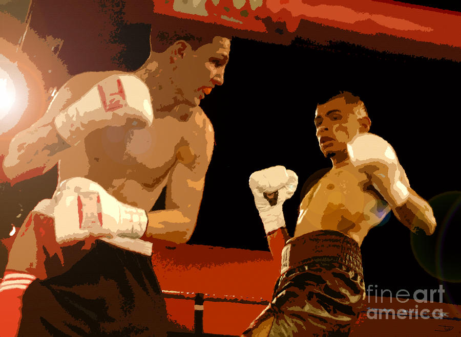 Artwork Painting - Ringside by David Lee Thompson