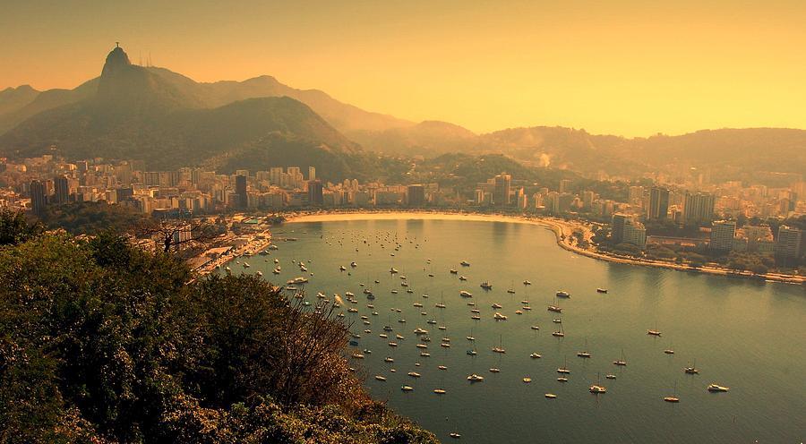 Horizontal Photograph - Rio De Janeiro Cityscape by Renata Souza e Souza