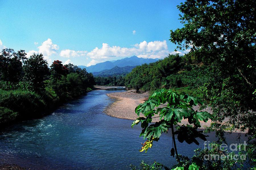 Rio Grande River Photograph - Rio Grande And Blue Mountain by Thomas R Fletcher