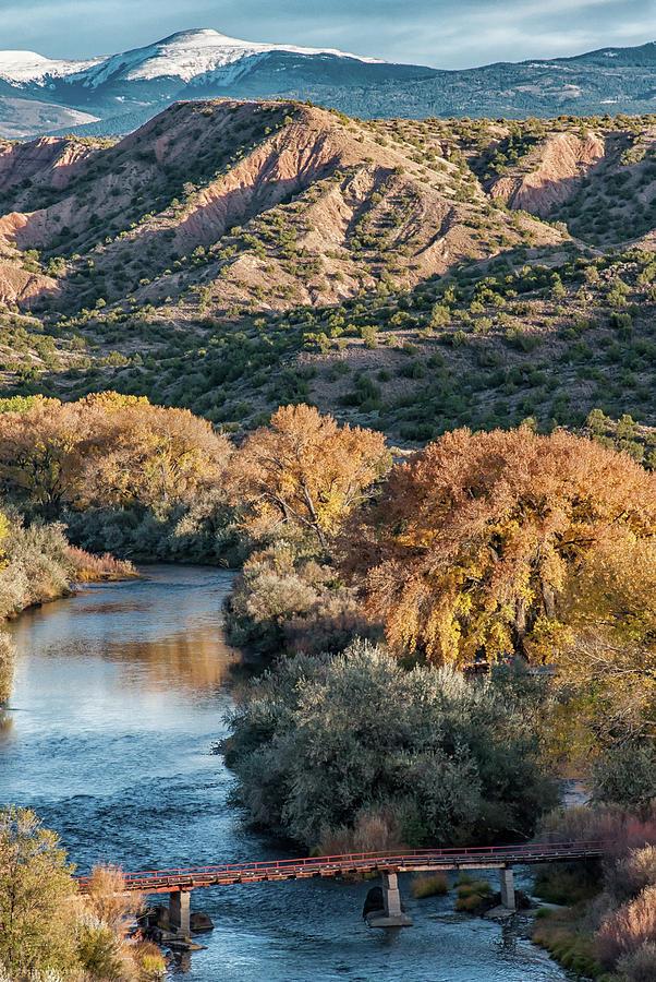 Rio Grande Embudo Vista by Britt Runyon