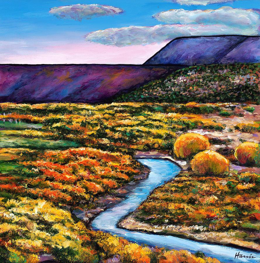 Colorado Aspens Painting - Rio by Johnathan Harris