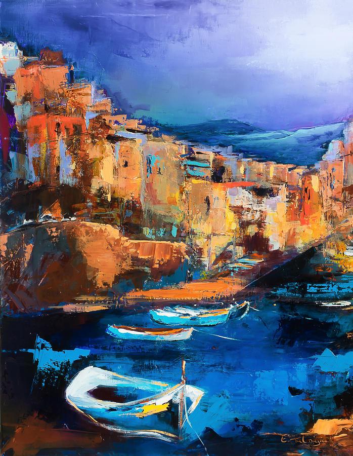Riomaggiore - Cinque Terre Painting