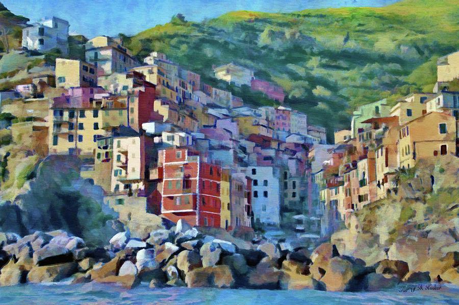 Riomaggiore by Jeffrey Kolker