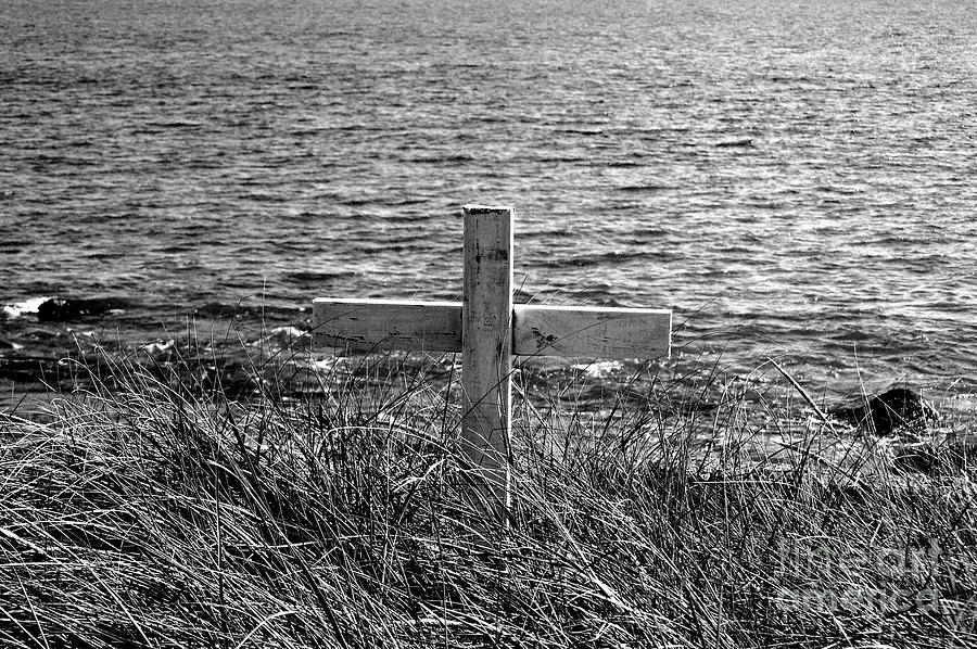 Graves Photograph - RIP by Samantha  Backhaus