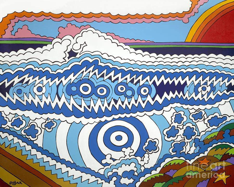 Rip Tide Painting by Rojax Art