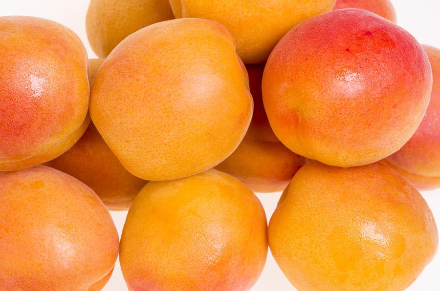 Food Photograph - Ripe Apricots  by John Trax