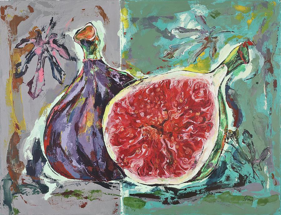 Ripe Figs by Maria Arnaudova