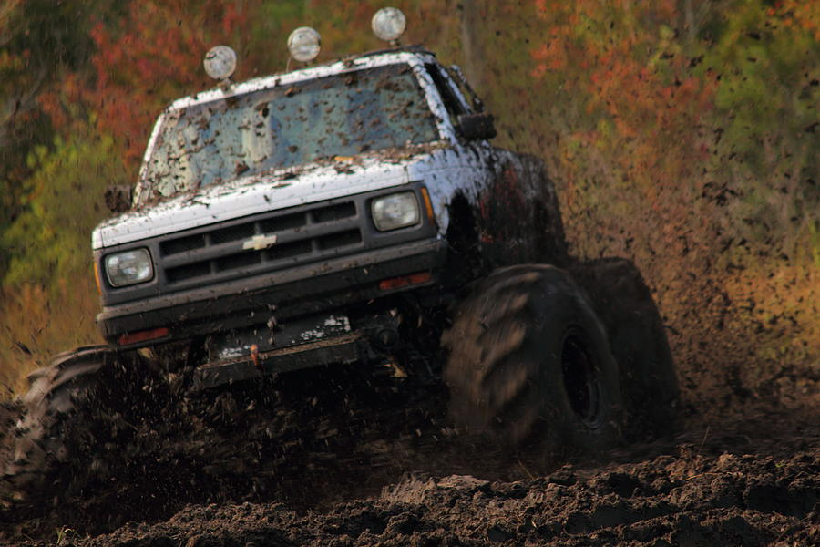 Chevy Truck Photograph - Ripn by Jamie Smith
