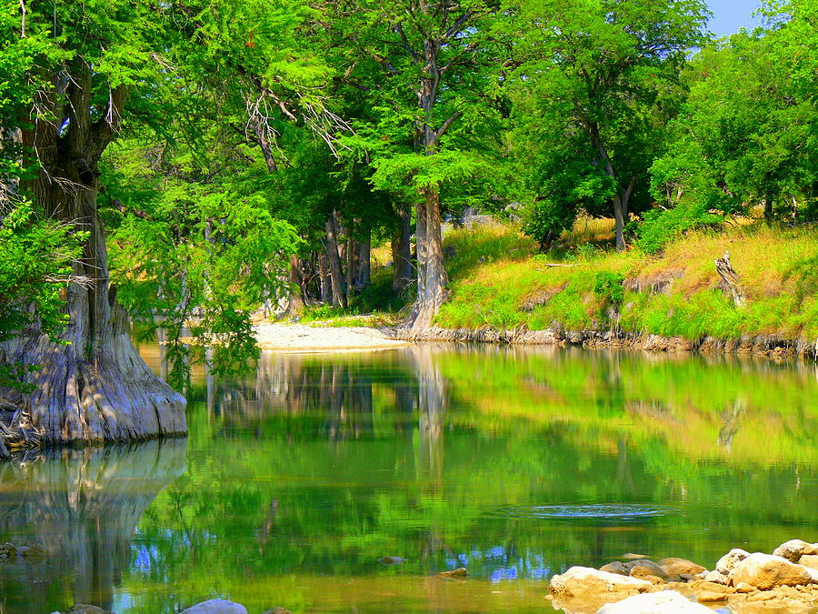 Hill Country Photograph - Ripple Effect by Kirk Long