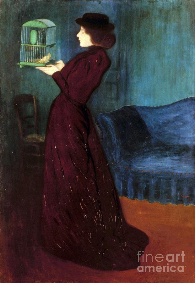 1892 Photograph - Ripple-ronai: Woman, 1892 by Granger