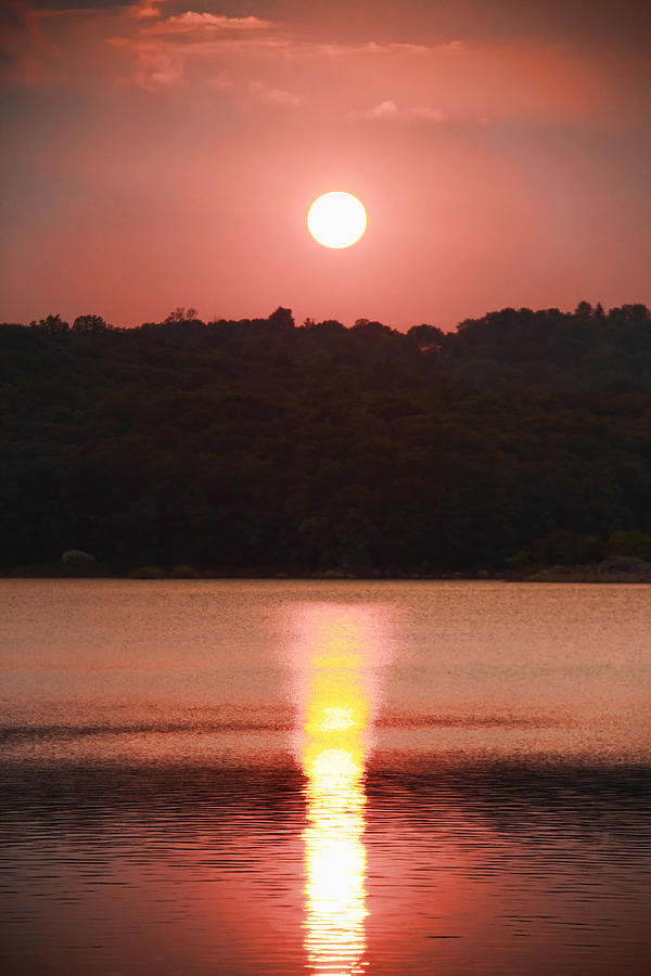 Sunset Photograph - Ripples Of Sunset by Daphne Sampson