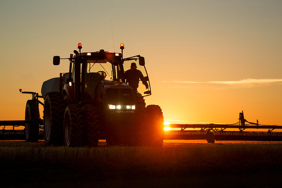 Agriculture Photograph - Rise And Shine by Todd Klassy