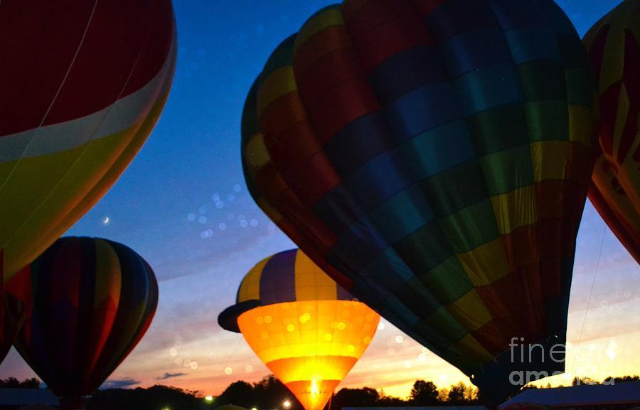 Balloon Photograph - Rise Up by Julie Street