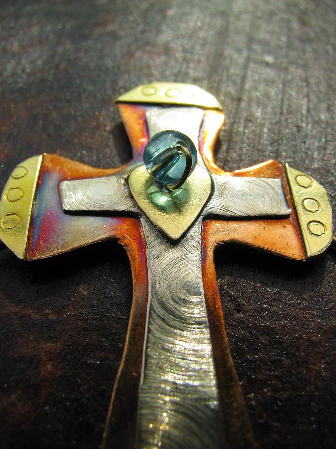 Cross Photograph - Risen by Dawn Davis