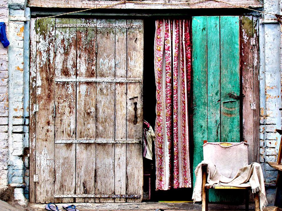 Door Photograph - Rishikesh Door by Derek Selander