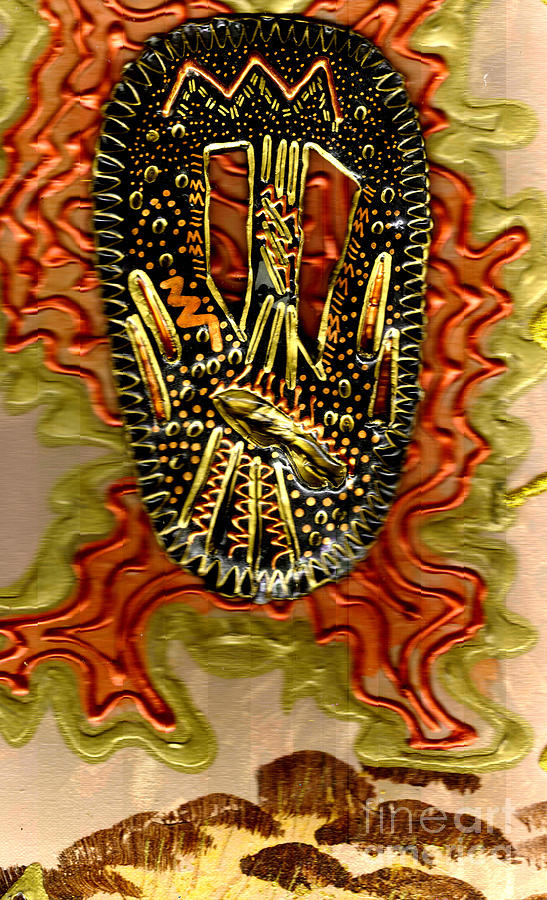 Gretting Cards Mixed Media - Rising Above II by Angela L Walker