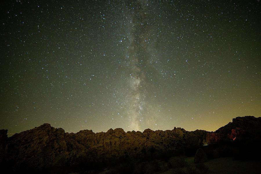 Rising Milky Way - Joshua Tree National Park - California Photograph