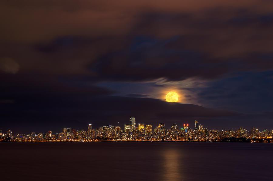 Rising Moon Photograph