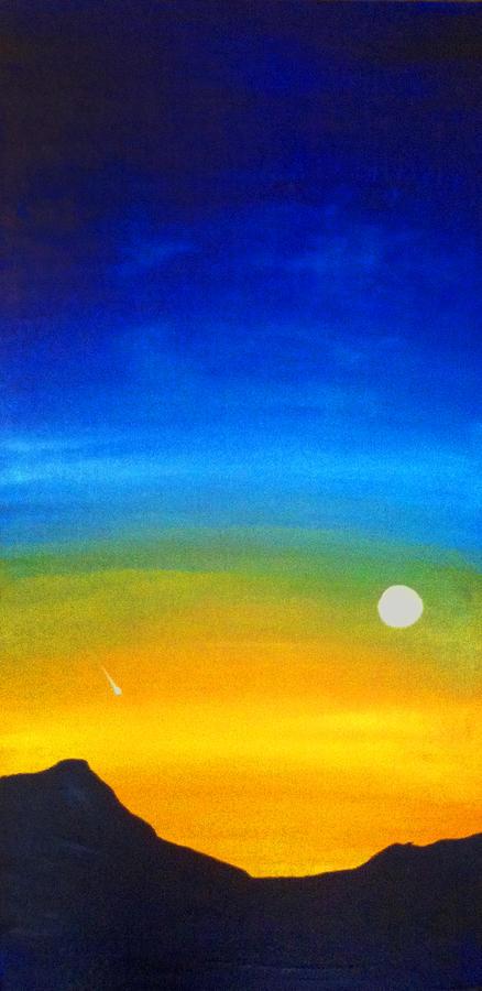 Rising Moon by Richard Fritz