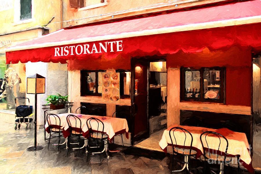 Ristorante In Venice by Mel Steinhauer