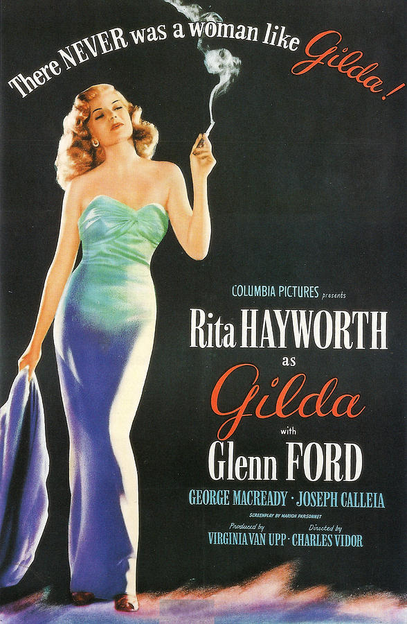 Gilda Photograph - Rita Hayworth As Gilda by Georgia Fowler