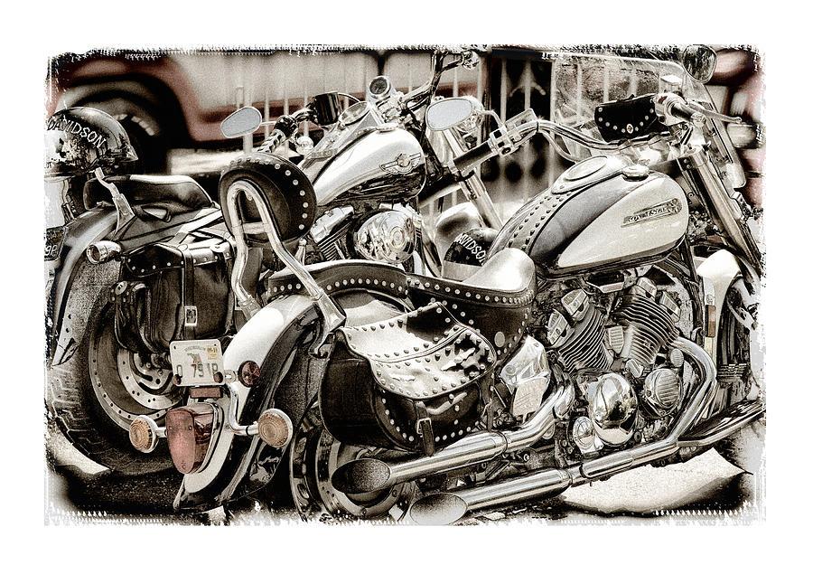 Yamaha Photograph - Rivals by Mal Bray