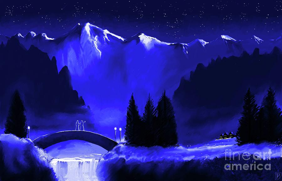 Rivendell under Stars by GORDON PALMER