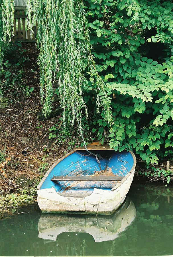 Boat Photograph - River Avon Boat by Lauri Novak