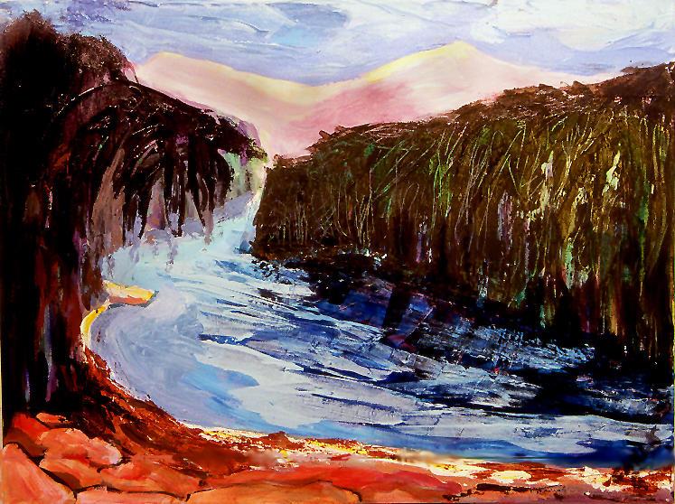 River Bend 2001 by Carla Dreams