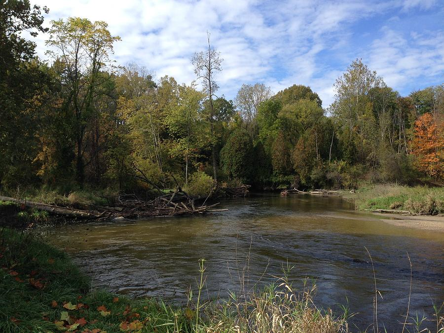 Pure Michigan Digital Art - River Bends by Jim Richardson