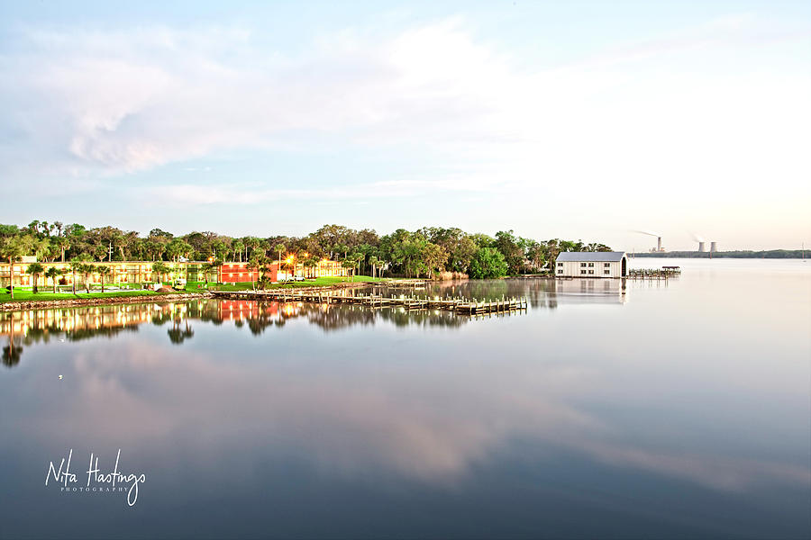 St. Johns River Photograph - River Bliss  by Nita Hastings