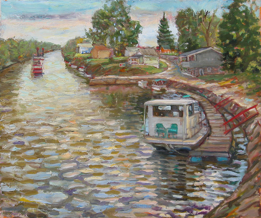 River Boats by Paul Emory