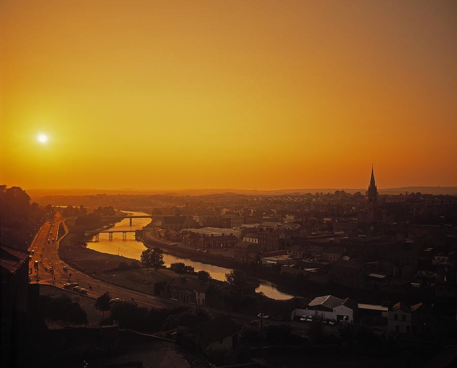 Cityscape Photograph - River Boyne, Drogheda, Co Louth, Ireland by The Irish Image Collection