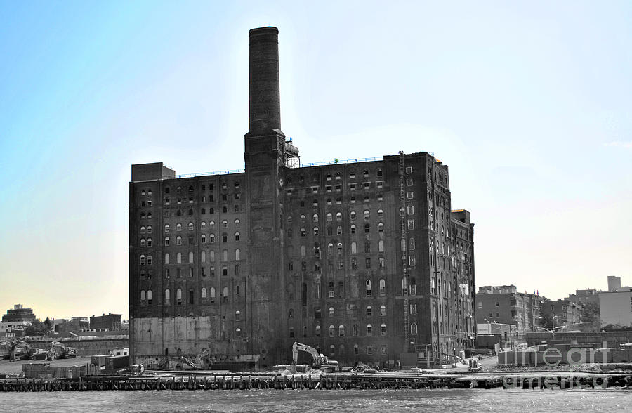 New Photograph - River Factory by Jost Houk