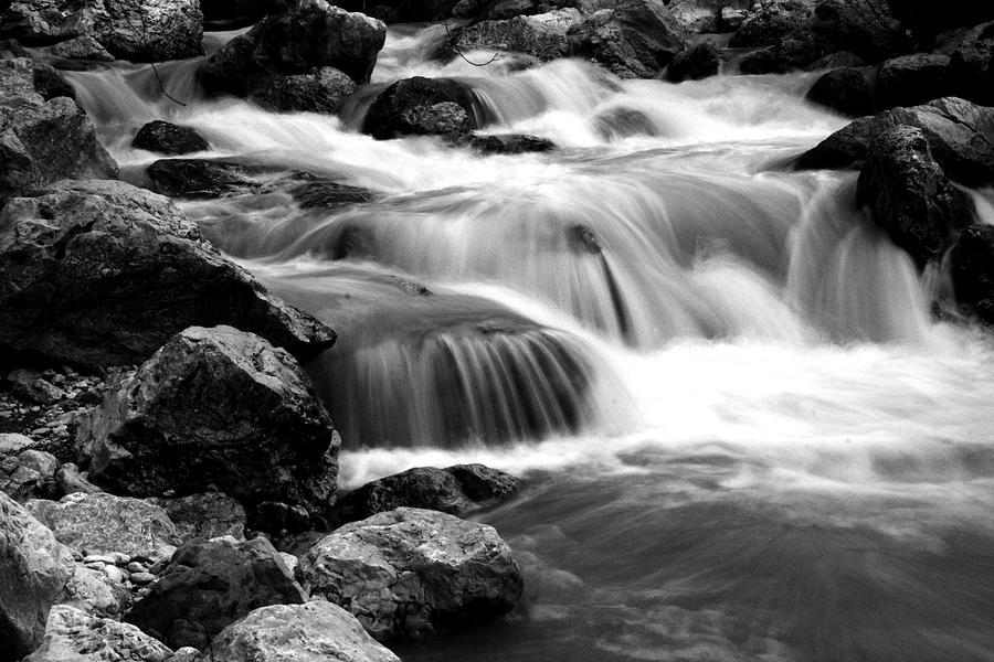 Waterscape Photograph - River by Georgi Bitar